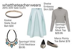 Sale Outfit by whattheteacherwears on Polyvore featuring whattheteacherwears