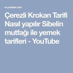 Çerezli Krokan Tarifi Nasıl yapılır Sibelin mutfağı ile yemek tarifleri - YouTube