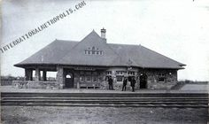 Kingsville Railroad Station  c.1899 Colchester Essex, Windsor Ontario, Essex County, Train Stations, Local History, Abandoned, Trains, Past, Memories