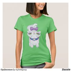 Opalescence T-Shirt. Cute My Little Pony merchandise to personalize. #mylittlepony #mlp #giftideas #kids #birthday #personalize #shopping