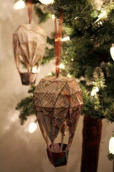 Steampunk Christmas -• Atlas Hot Air Balloon ~Steampunk Christmas Love •❀• From Airship Commander HG Havisham