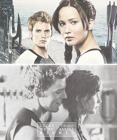 Katniss  Finnick edit.