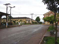 Vista parcial do Município Oiapoque ( Extremo Norte do Brasil)