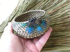 sm pine needle basket. $22.50, via Etsy.