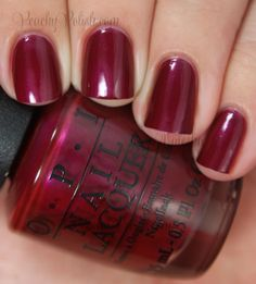 OPI Thank Glogg It's Friday | Fall 2014 Nordic Collection | Peachy Polish
