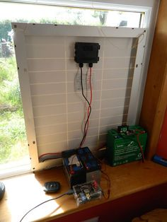 All Weather Solar Powered Raspberry Pi