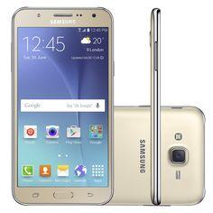 Smartphone Samsung Galaxy J7 Duos SM - J700 16GB Dourado 4G Tela 5,5 ´ Câmera 13MP Android 5.1 - 9804234