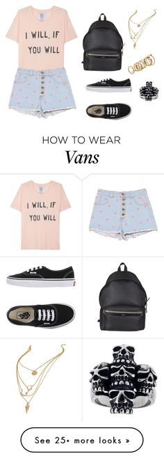 """""""Untitled #876"""" by nestor-ana on Polyvore featuring Zoe Karssen, Vans, Yves Saint Laurent, Lipsy and Mia Sarine"""