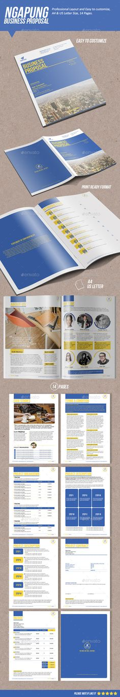 Sugercube InDesign Proposal Template for Business Proposal - it proposal template