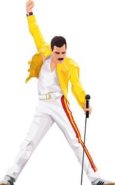 Freddie Mercury | Queen by Frederico Birchal, via Behance