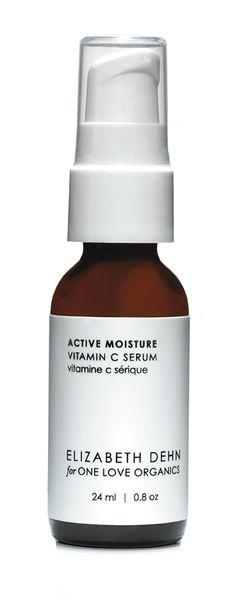 Active Moisture Vitamin C Serum | Elizabeth Dehn for @One Love Organics Collection | #Natural Beauty