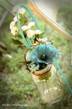 Mason jars, flower vase