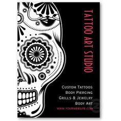 Deno Circus Tattoo Business Card | tattoos picture tattoo business ...