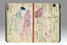 Diary belonging to Salvador Dali <br> Photo: courtesy of Sotheby's Paris