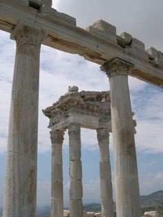 Pergamum, Ephesus - Ruins of the City on the Hill