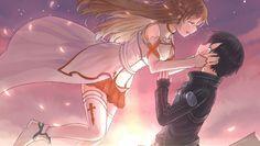 Kirito and Asuna :3