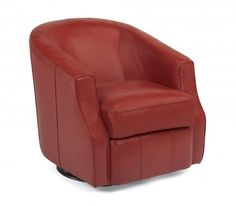 Moonwalk Leather Swivel Glider by #Flexsteel via Flexsteel.com
