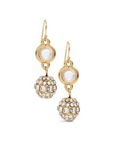 Chico's Brille Gold Fireball Drop Earring #chicos
