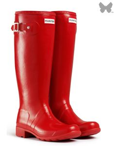 Hunter Original Wellington boots - Great for this Hawke's Bay weather we've ben having lately