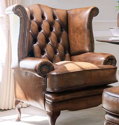 Chesterfield classic style armchair
