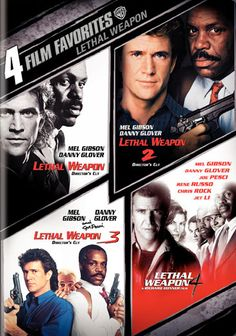because Mel Gibson + Danny Glover are just perfect comedy duo!