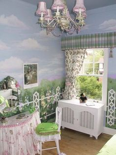 Wonderland room on pinterest garden bedroom alice in for Garden themed bedroom ideas