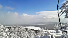 Le lac Stukely vu du mont Chauve Crédit photo : M.-C.Grégoire