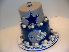 dallas cowboys centerpieces | Faulk Dallas Cowboys - Cake Decorating Community - Cakes We Bake