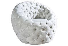 Egg Chair, Light Gray on OneKingsLane.com