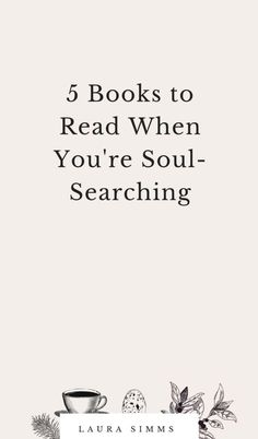 5 Books to Read When You're Soul-Searching - Bücher - Livros Reading Lists, Book Lists, Quotes On Reading Books, Quote Books, Reading Art, Think Happy Thoughts, Inspirational Books, Reading Material, Motivation
