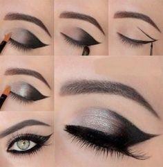 maquillaje ojo felino