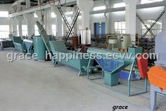 PET Bottle Flakes Recycling Line - China PET bottles recycling line