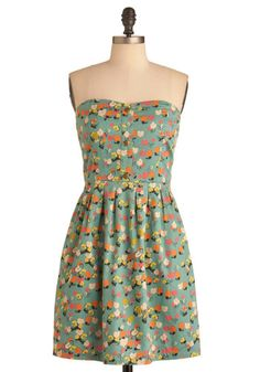 Coloring Book Ending Dress, #ModCloth