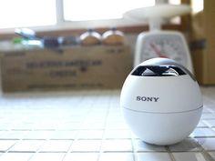 SONY製Bluetoothスピーカー。無線で簡単に接続でき、音がよく持ち運びが簡単です。http://andronavi.com/2013/03/254889