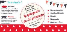 """Résultat de recherche d'images pour """"invitation anniversaire guinguettes"""""""