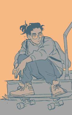 Drawing reference poses male artworks 30 New ideas Cartoon Kunst, Cartoon Cartoon, Arte Sketchbook, Drawing Reference Poses, Drawing Poses Male, Drawing Of A Boy, Cartoon Art Styles, Cute Art Styles, Character Drawing