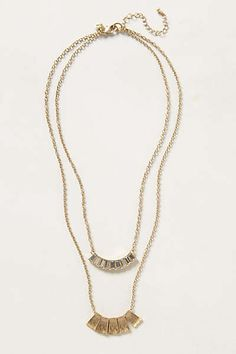 Anthropologie - Planklet Gem Necklace