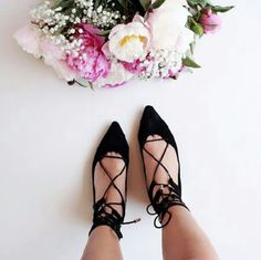 Must Have!! Spring Essential lace up flats Brand new  Never been worn Comes in original box No trades Price is firm Shoes Flats & Loafers