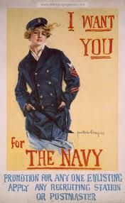 More than 12,000 women enlisted in the United States Navy and Marine Corps during the First World War.