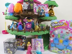 Play-Doh Soft Spots Surprise Eggs Portable Puppy House Care Bears Blind Bags Huevos Sorpresa - YouTube