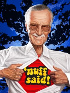 Stan Lee was- and still is :)- a hero to me. As a kid tho, I thought he was one of the coolest people alive!