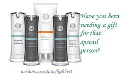 We all love gifts and then get great skin from it is even better. #Gifts #Giftideas #Greatskin #Nerium  http://nerium.com/shop/kebbert