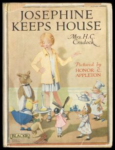 Honor C. Appleton ''JOSEPHINE KEEPS HOUSE'', BLACKIE 1930s/40s
