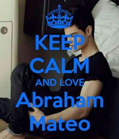 Keep calm: Abraham Mateo (03)