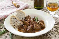 Spanish style ox liver