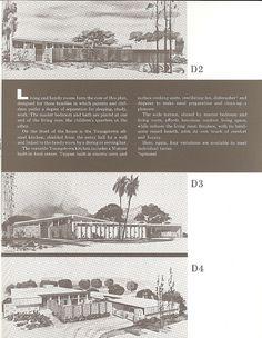 Living Conditioned Homes. Northridge, CA. Built ~1957. Palmer & Krisel, Architects. Sanford D. Adler, Builder -| Flickr - Photo Sharing! Repinned by Secret Design Studio, Melbourne. www.secretdesignstudio.com