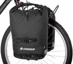 Bicycle panniers kit for front Crosso 35l SMALL TWIST - bike pannier bags waterproof