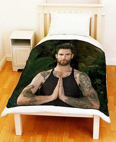 adam levine Bedding | Fleece Blanket ADAM LEVINE Maroon 5 Bed Throw by uniquebedding4u, $55 ...