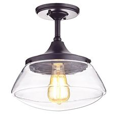 CLAXY® Ecopower Vintage Metal & Glass Ceiling Light 1-lights Pendant Lighting Chandelier CLAXY http://www.amazon.com/dp/B013QVI2WC/ref=cm_sw_r_pi_dp_L4Kzwb195W8GA