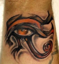 Cool Huros Eye Egyptian Tattoo Designs on Hand, Egyptian Eye Tattoo Meaning Tatuajes Tattoos, Sun Tattoos, Tattoos For Guys, Tatoos, Symbol Tattoos, Egyptian Symbol Tattoo, Egyptian Eye Tattoos, Egyptian Art, Army Tattoos